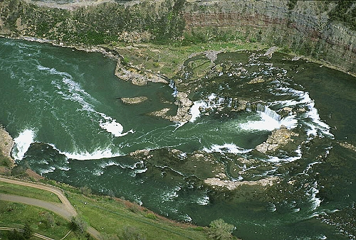 Great Falls (MT) United States  city photos gallery : ... of Falls Below Rainbow Dam, Great Falls, Montana, MT United States