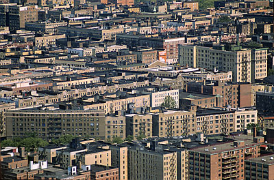 Airphoto Aerial Photograph Of Manhattan Apartments New York City New York