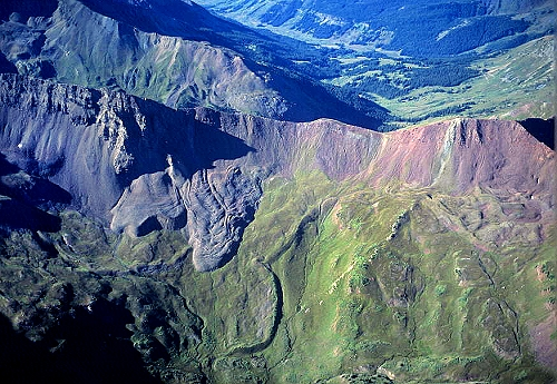 Gunnison (CO) United States  City pictures : ... photo of Talus Flow, Gunnison County, Colorado, CO United States