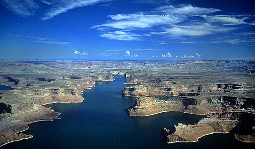 Lake Powell (UT) United States  city photos : Aerial photo of Lake Powell, Kane County, Utah, UT United States