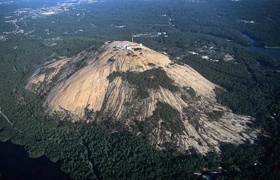 Mountain Home (ID) United States  city photo : Aerial photo of Stone Mountain, Atlanta, Georgia, GA United States