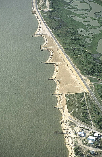 Port Lavaca (TX) United States  city images : Aerial photo of Beach Groins, Port Lavaca, Texas, TX United States