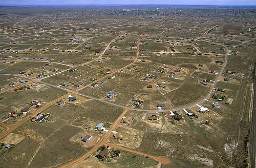 Pueblo (CO) United States  city photos gallery : Aerial photo of Pueblo West, Pueblo County, Colorado, CO United States