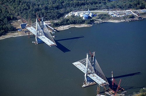 Greenville (MS) United States  City pictures : ... of Bridge Construction, Greenville, Mississippi, MS United States