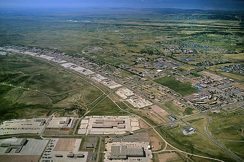 Airphoto Aerial Photograph Of Fort Carson El Paso