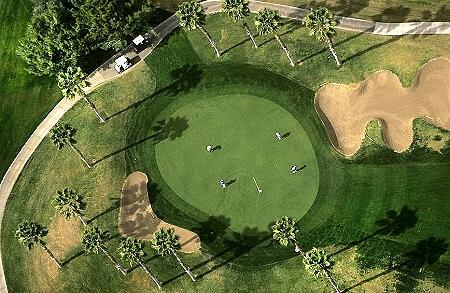 Aerial photo of foursome phoenix arizona az united states