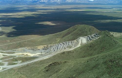 Beaver (UT) United States  City new picture : Aerial photo of Hillside Mining, Beaver County, Utah, UT United States
