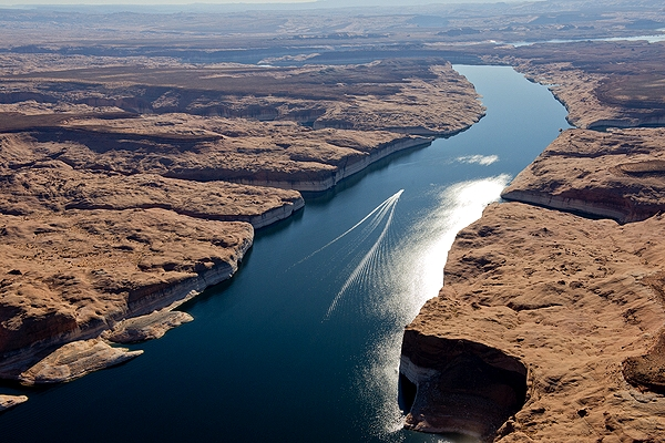 Lake Powell (UT) United States  City new picture : Aerial photo of Lake Powell , Kane County, Utah, UT United States